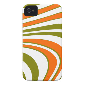 Coque Case-Mate iPhone 4 Rayures sinueuses abstraites