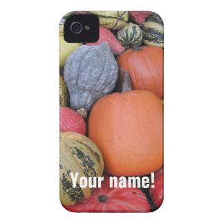 Coque Case-Mate iPhone 4 Récolte de citrouille R02.1 (p)