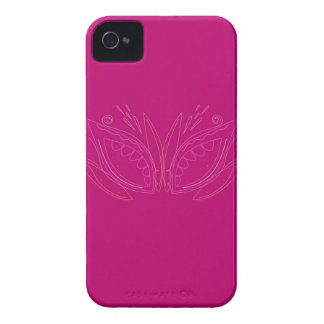 Coque Case-Mate iPhone 4 Rose de mandalas de conception