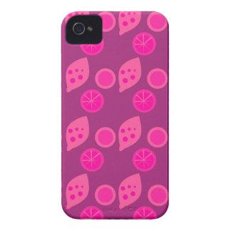 Coque Case-Mate iPhone 4 Rose ethnique de citrons de conception