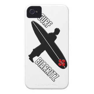 Coque Case-Mate iPhone 4 Surfeur Biarritz Basque