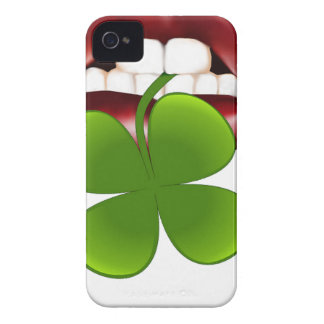 Coque Case-Mate iPhone 4 T-shirt irlandais chaud de cadeau de baiser