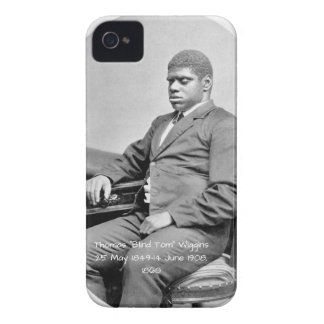 "Coque Case-Mate iPhone 4 Thomas ""Tom aveugle"" Wiggins, 1860"