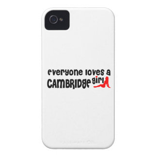Coque Case-Mate iPhone 4 Tout le monde aime une fille de Cambridge