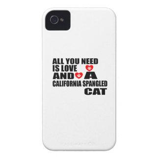 COQUE Case-Mate iPhone 4 TOUT QUE VOUS AVEZ BESOIN EST CAT ORNÉ DE