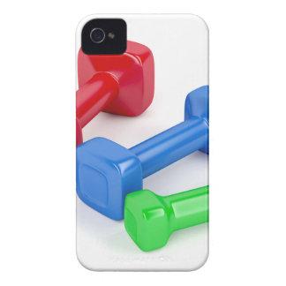 Coque Case-Mate iPhone 4 Trois haltères différentes