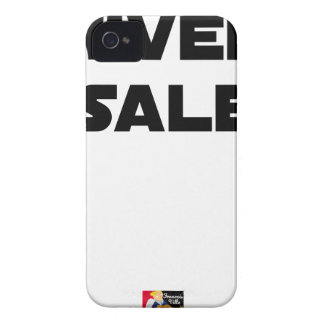 Coque Case-Mate iPhone 4 UNIVERS SALE - Jeux de mots - Francois Ville