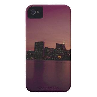 Coque Case-Mate iPhone 4 Ville urbaine de Manhattan de crépuscule d'horizon