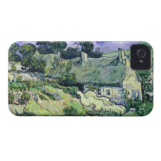 Coque Case-Mate iPhone 4 Vincent van Gogh | a couvert des cottages de