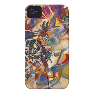 Coque Case-Mate iPhone 4 Wassily Kandinsky - art abstrait de la composition