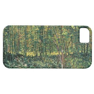 Coque Case-Mate iPhone 5 Arbres de Vincent van Gogh | et broussaille, 1887