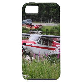 Coque Case-Mate iPhone 5 Avion de flotteur parmi les fleurs, Alaska