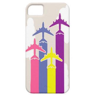 Coque Case-Mate iPhone 5 Avions colorés