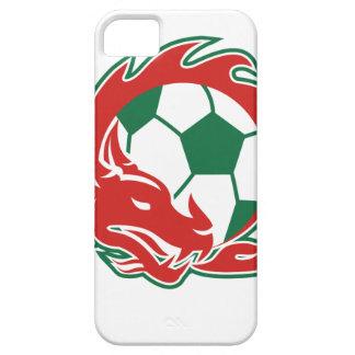 Coque Case-Mate iPhone 5 Ballon de football de dragon de Gallois