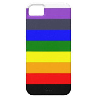 Coque Case-Mate iPhone 5 Blanc pour noircir l'arc-en-ciel des espaces