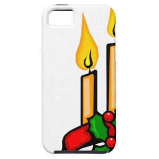Coque Case-Mate iPhone 5 Bougies de Noël