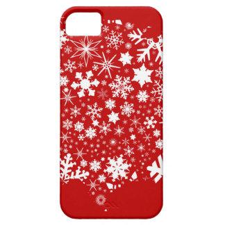 Coque Case-Mate iPhone 5 Carte de flocon de neige de l'Amérique