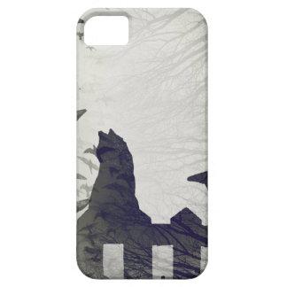Coque Case-Mate iPhone 5 Cas de l'iPhone 5/SE de chat noir