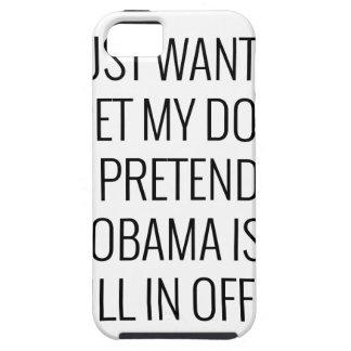 Coque Case-Mate iPhone 5 Chien Obama