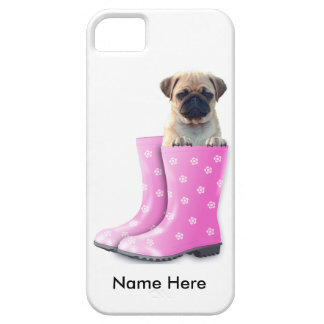 Coque Case-Mate iPhone 5 Chiot de carlin