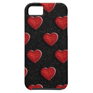 Coque Case-Mate iPhone 5 Coeurs de parties scintillantes