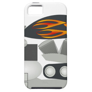 Coque Case-Mate iPhone 5 Dessin de moto