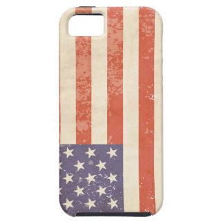 Coque Case-Mate iPhone 5 Drapeau américain vintage