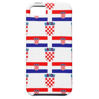 Coque Case-Mate iPhone 5 Drapeau et crête de la Croatie