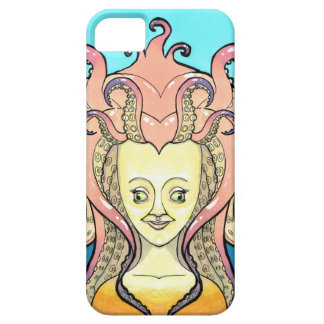Coque Case-Mate iPhone 5 femme poulpe