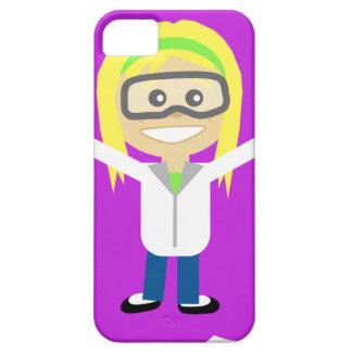 Coque Case-Mate iPhone 5 Fille de la Science