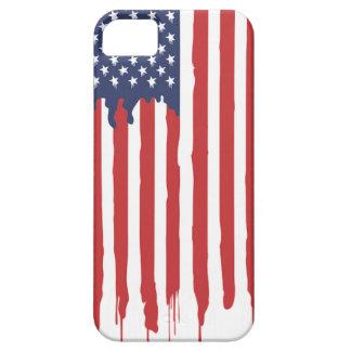 Coque Case-Mate iPhone 5 Graffiti Etats-Unis de drapeau américain uni