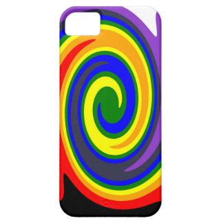 Coque Case-Mate iPhone 5 La pirouette ondule l'arc-en-ciel de couleurs,