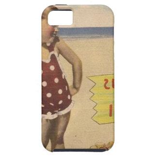 Coque Case-Mate iPhone 5 La rétro mer vintage d'art écosse la Floride