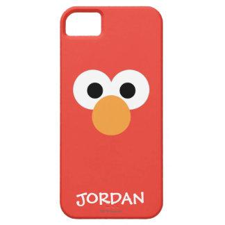 Coque Case-Mate iPhone 5 Le grand visage   d'Elmo ajoutent votre nom