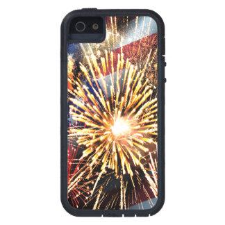 Coque Case-Mate iPhone 5 Les Etats-Unis diminuent et des feux d'artifice