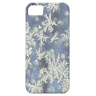 Coque Case-Mate iPhone 5 Macro photographie Frost de nature sur le métal