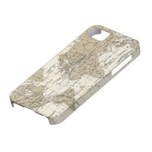 Coque Case-Mate iPhone 5 Mappemonde