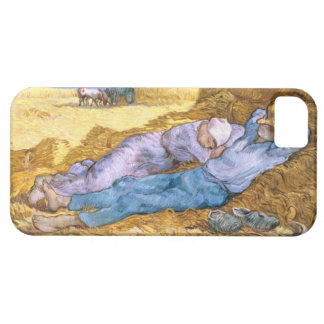 Coque Case-Mate iPhone 5 Midi de Vincent van Gogh  , la sièste, après