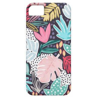 Coque Case-Mate iPhone 5 Motif tropical coloré Phonecase de marine de