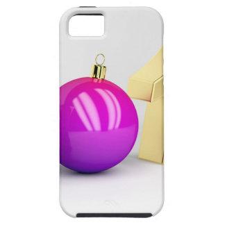 Coque Case-Mate iPhone 5 Numéro 2018 avec la boule de Noël
