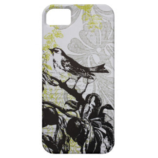 Coque Case-Mate iPhone 5 oiseau français de pays d'élégance minable