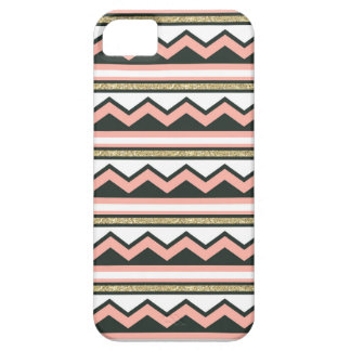 Coque Case-Mate iPhone 5 Or ultra chic et cas de corail de l'iPhone 5/5s de
