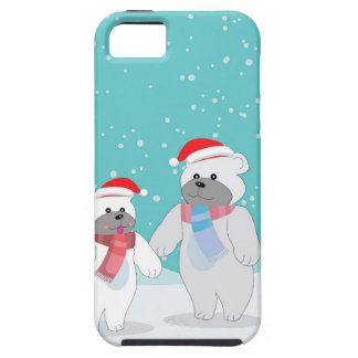 Coque Case-Mate iPhone 5 ours blanc B