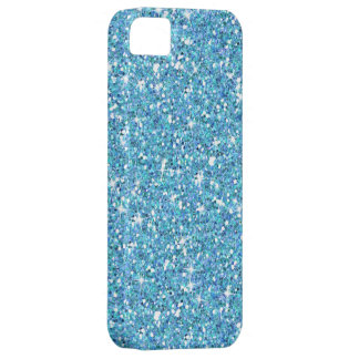 Coque Case-Mate iPhone 5 Parties scintillantes étincelantes de bleu d'océan