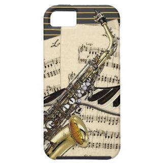 Coque Case-Mate iPhone 5 Saxophone et musique de piano