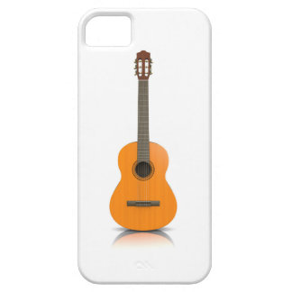 Coque Case-Mate iPhone 5 Se d'iPhone + guitare classique de cas de l'iPhone