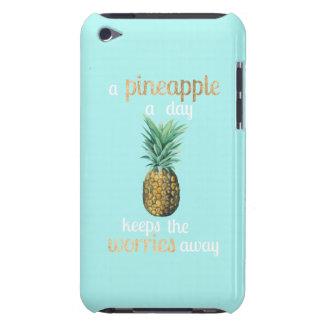 Coque Case-Mate iPod Touch Citation de la vie d'ananas