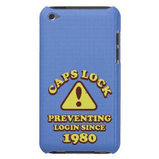 Coque Case-Mate iPod Touch Fonction majuscule