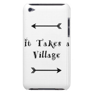 Coque Case-Mate iPod Touch Il prend un village - adoption Parenting