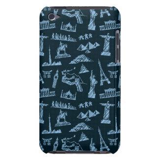 Coque Case-Mate iPod Touch Motif de voyage dans le motif de bleus